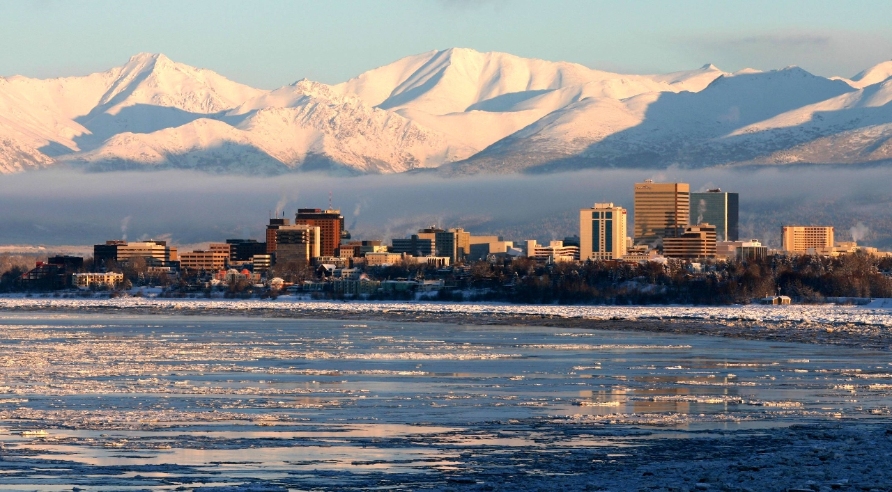 Anchorage from Earthquake Park