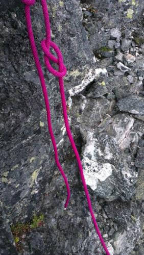 60 meters repet nådde precis hela vägen ned